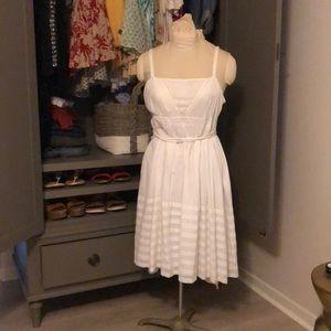 Dresses & Skirts - Breezy beach white summer dress! Anthro girls!